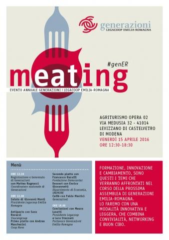 """""""Meating"""": venerdì la nona assemblea annuale di Generazioni Emilia-Romagna"""