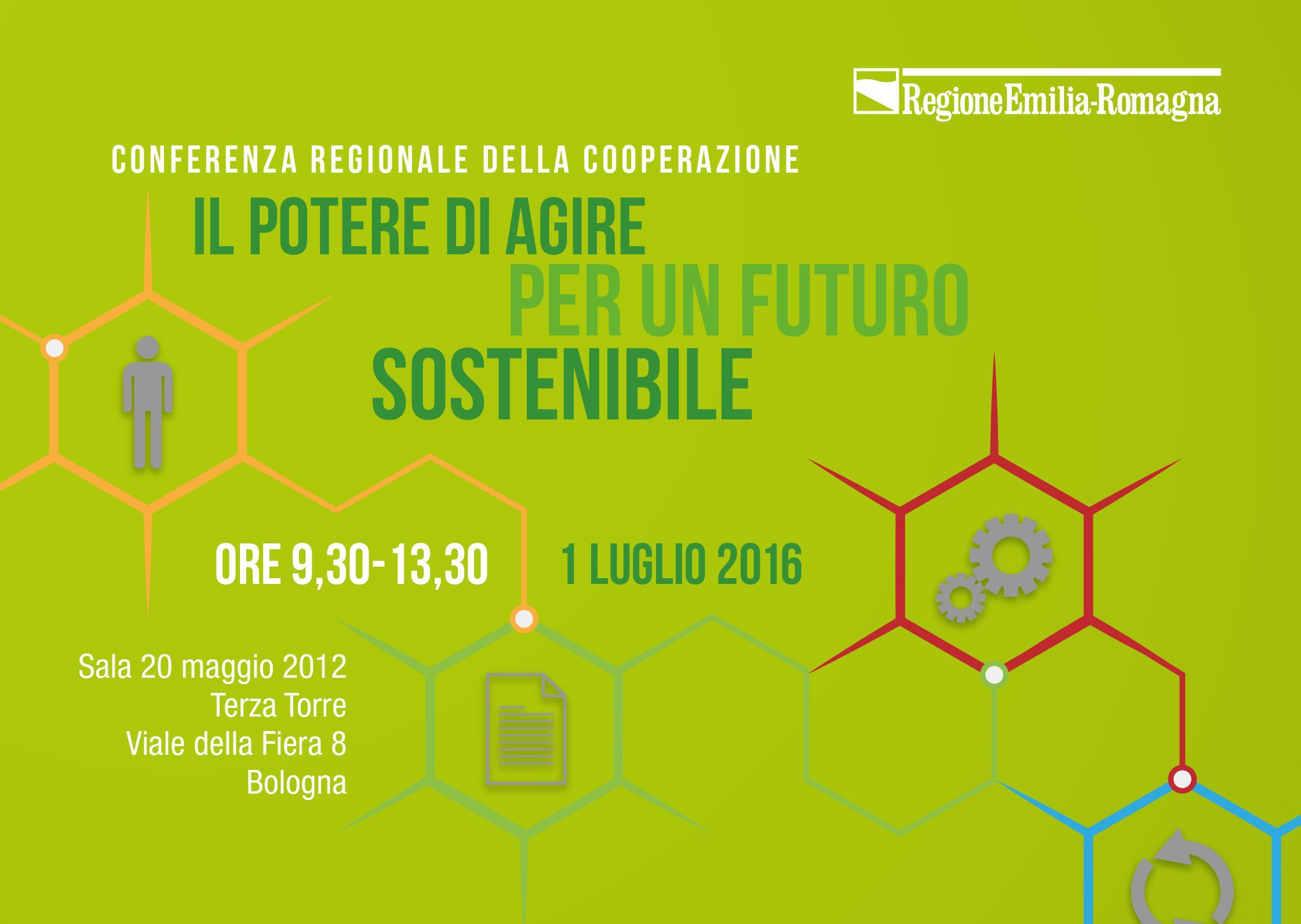 """""""Il potere di agire per un futuro sostenibile"""". A Bologna la conferenza regionale della cooperazione"""