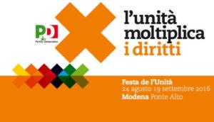 Riforma del Terzo Settore: se ne parla domenica 28 agosto a Modena alla Festa dell'Unità