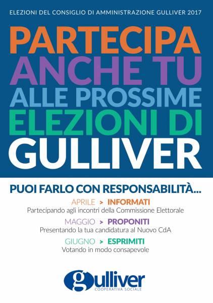 GULLIVER : Informati, proponiti, esprimiti. Una campagna informativa per l'elezione del nuovo CDA