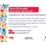 Piazza Che Accoglie: tra musica, talenti e culture dal mondo, sabato 16 settembre Ferrara si apre a una festa di cittadinanza e inclusione