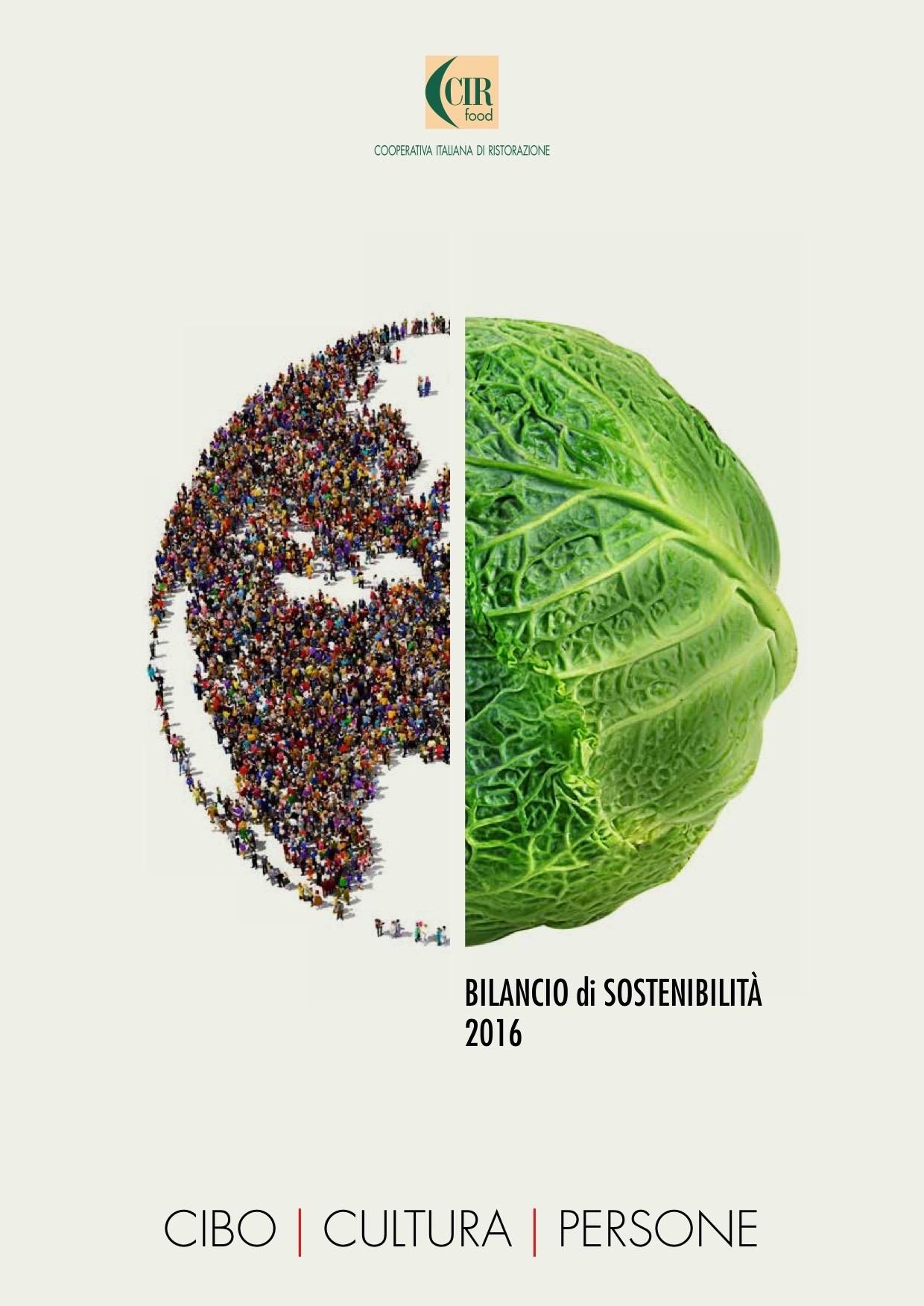 CIR FOOD riceve il Premio Biblioteca Bilancio Sociale 2017