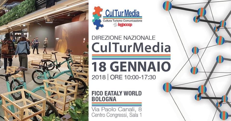 Direzione nazionale di CulTurMedia: il 18 gennaio l'appuntamento è a FICO