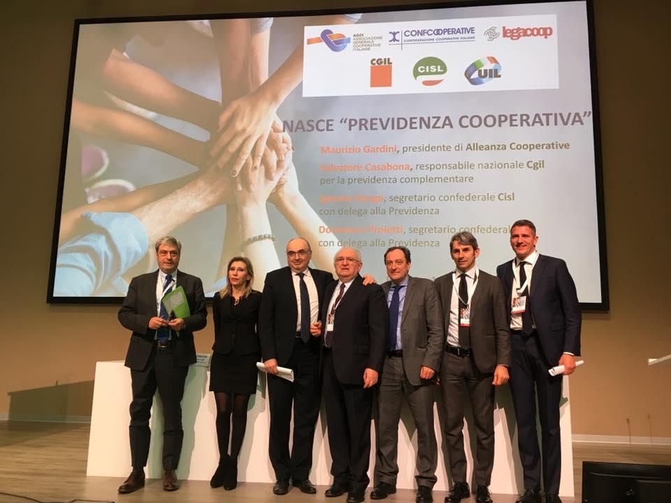 Al via Previdenza Cooperativa, il nuovo fondo unico di previdenza complementare dell'Alleanza delle Cooperative