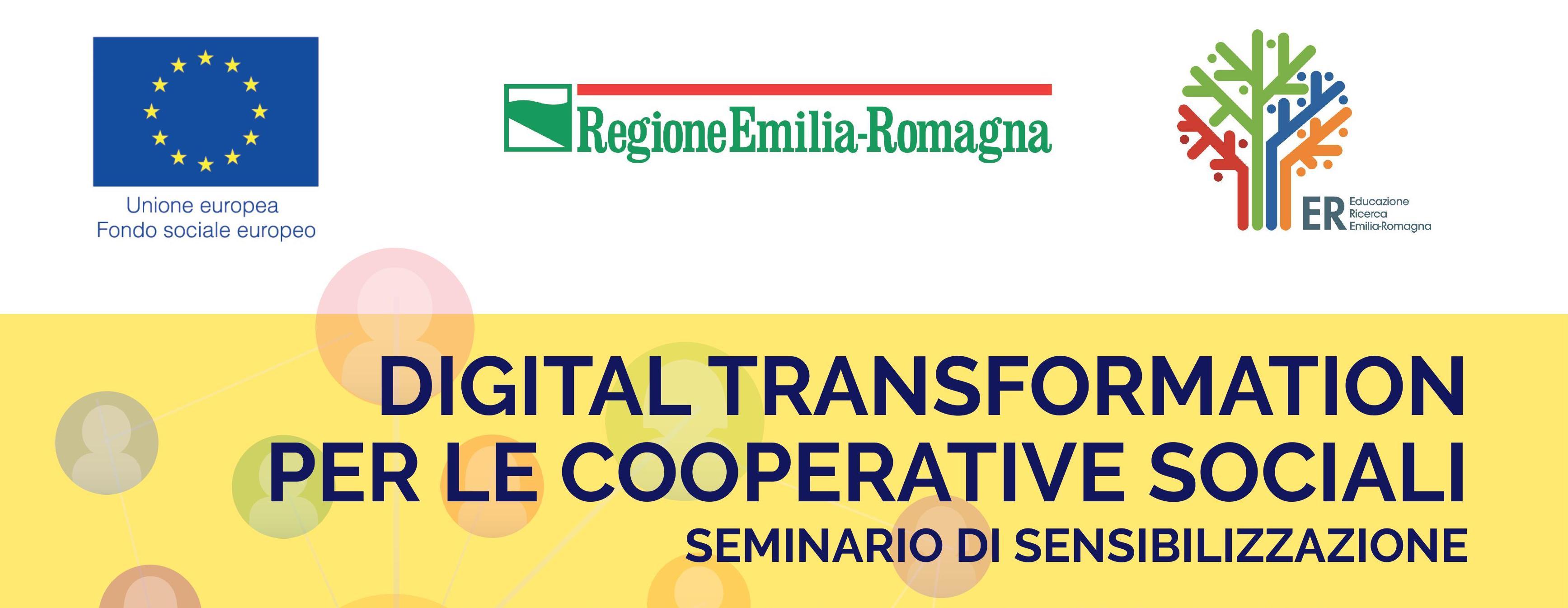 Digital transformation per le cooperative sociali: il 7 marzo un seminario con Demetra Formazione e Legacoop Emilia-Romagna