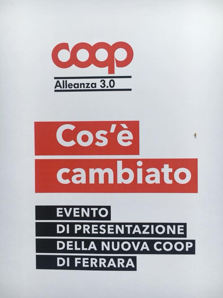 Cos'è cambiato? Coop Alleanza 3.0 apre per la prima volta in centro a Ferrara. L'inaugurazione sabato 21 aprile