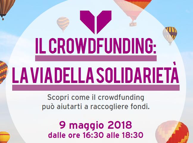 Il Crowdfunding: la via della solidarietà