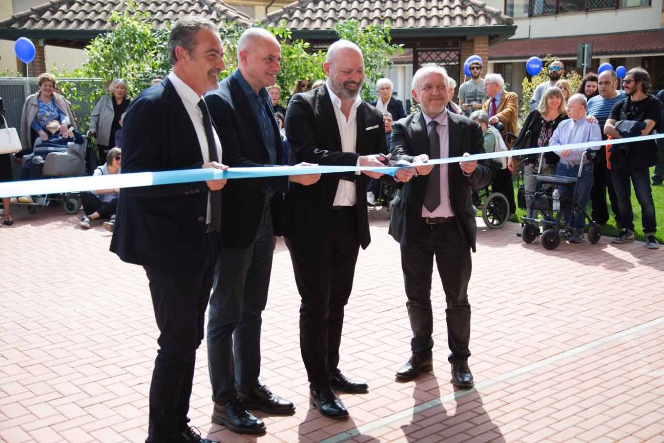 Inaugura Il Calicanto, la nuova residenza della cooperativa sociale Cidas che darà accoglienza a 20 disabili gravi