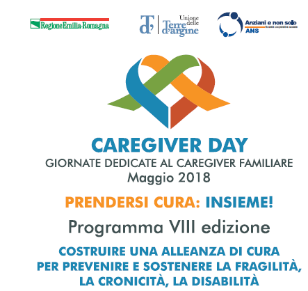Caregyver Day: il 26 e il 28 maggio due convegni in chiusura dell'VIII edizione
