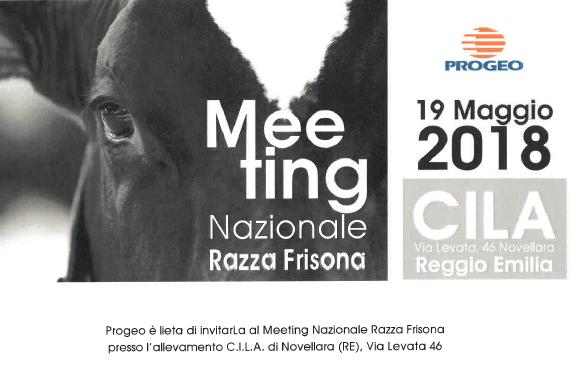 Progeo presenta: Meeting nazionale Razza Frisona