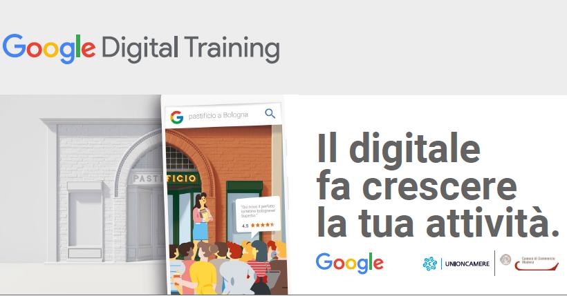 Martedì 26 giugno: Google Digital Training alla Camera di Commercio di Modena