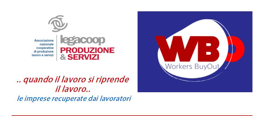 Workers Buyout, soluzione cooperativa per imprese in crisi: giovedì 21 giugno Legacoop incontra l'assessore regionale Palma Costi