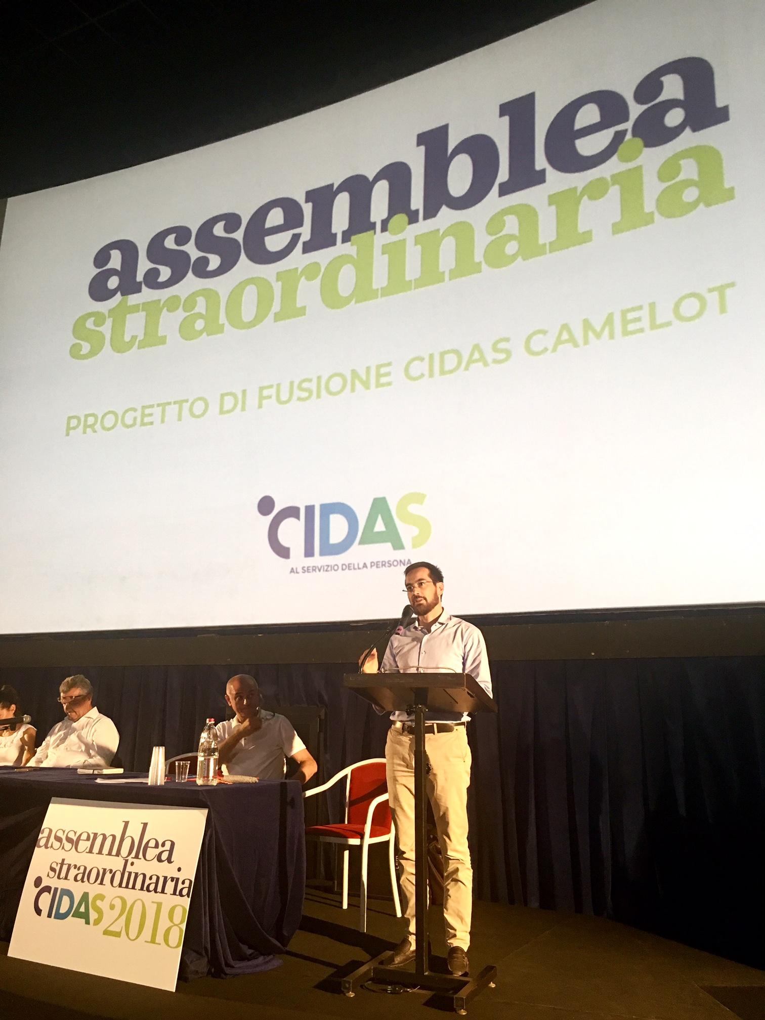 """Fusione Cidas e Camelot: i soci approvano in assemblea il progetto che dà vita alla più importante cooperativa sociale ferrarese. """"Un momento importante per la cooperazione, per il territorio, per le famiglie"""""""