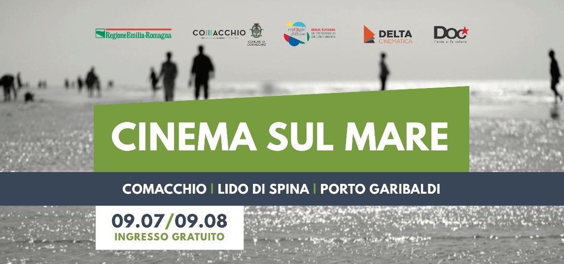 Cinema sul Mare: i migliori film sotto le stelle, in una rassegna promossa dal Comune di Comacchio e gestita dalla cooperativa Doc Servizi
