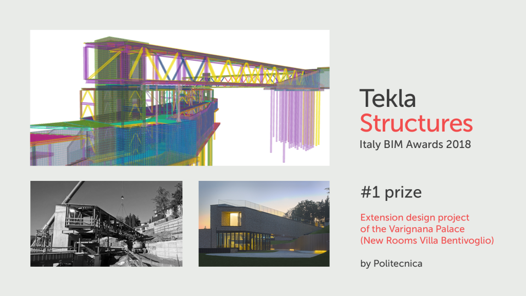 Politecnica: il progetto di ampliamento del Palazzo di Varignana vince il premio Tekla BIM Awards Italia 2018