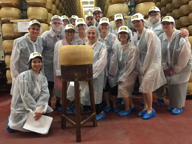 Albalat: studenti di San Francisco alla scoperta del Parmigiano Reggiano