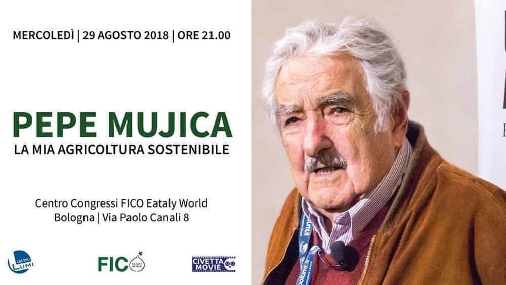 Pepe Mujica – La mia agricoltura sostenibile: appuntamento il 29 agosto a FICO