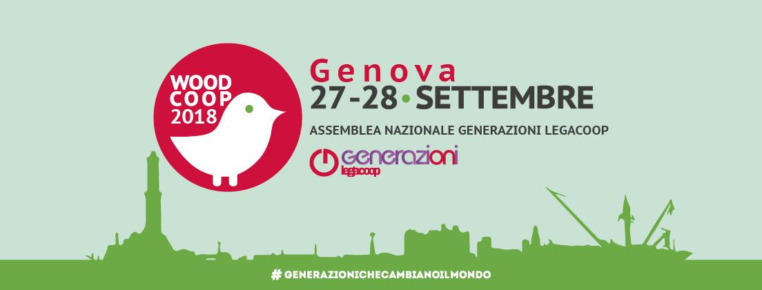 Woodcoop 2018: il 27-28 settembre a Genova l'Assemblea Nazionale di Generazioni Legacoop