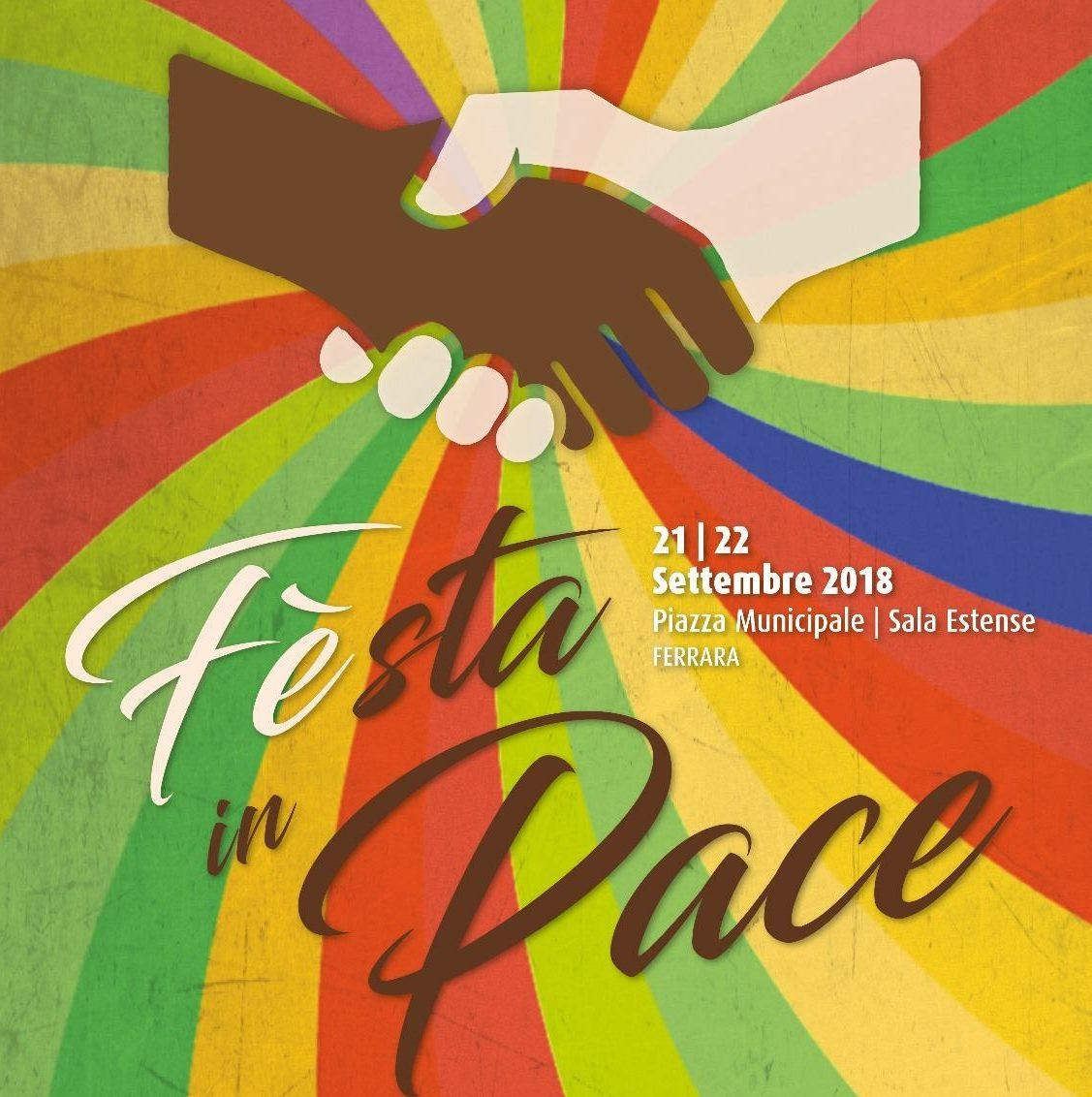 FEsta in Pace: il 21-22 settembre due giorni di dibattiti e spettacoli sul tema dell'accoglienza e dei diritti