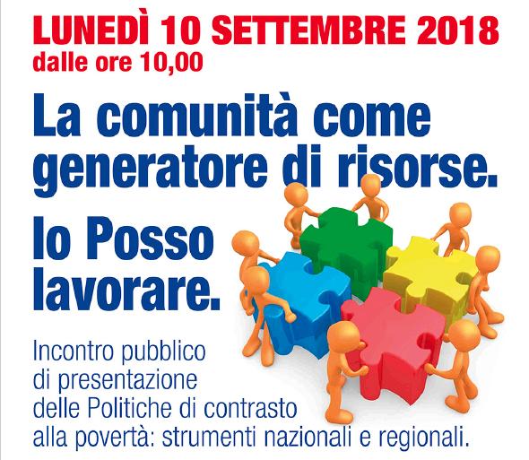 La Comunità generatore di risorse: il 10 settembre a Codigoro appuntamento con ASP sulle politiche di contrasto alla povertà