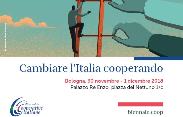 Biennale della Cooperazione: il 30 novembre e 1 dicembre l'appuntamento è a Bologna