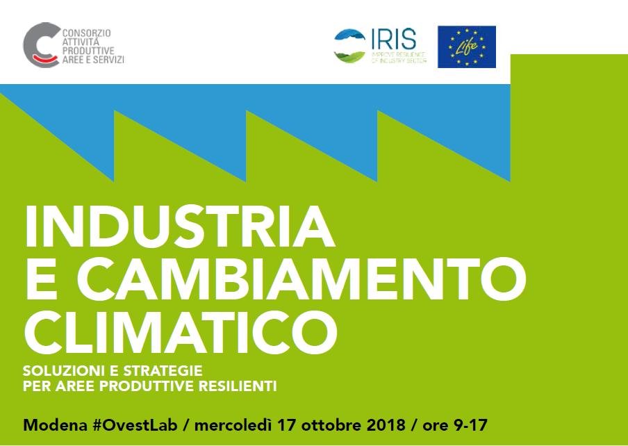 Industria e cambiamento climatico: soluzioni e strategie per aree produttive resilienti