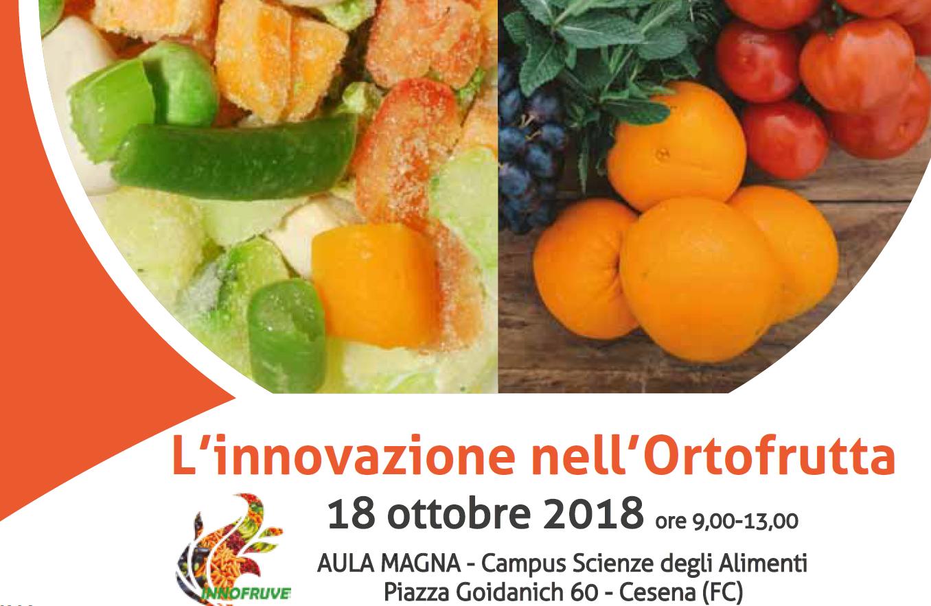 L'innovazione nell'Ortofrutta, giovedì 18 ottobre a Cesena