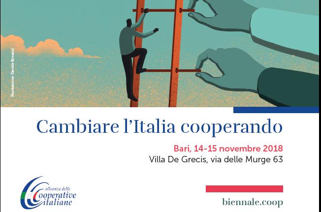 Cambiare l'Italia cooperando: si inizia a Bari il 14-15 novembre 2018