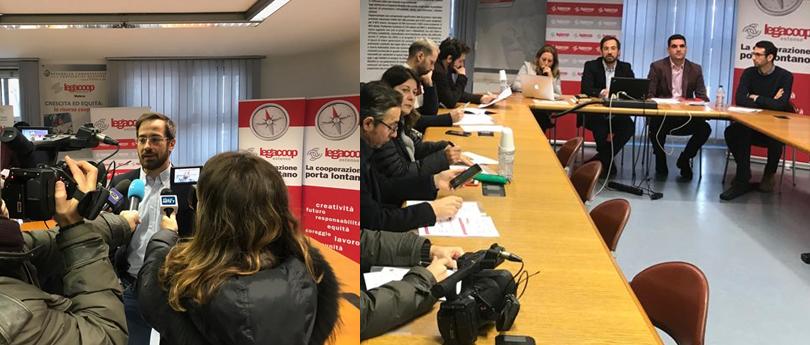 Conferenza Stampa Legacoop Estense: gli andamenti delle cooperative associate e la centralità del lavoro