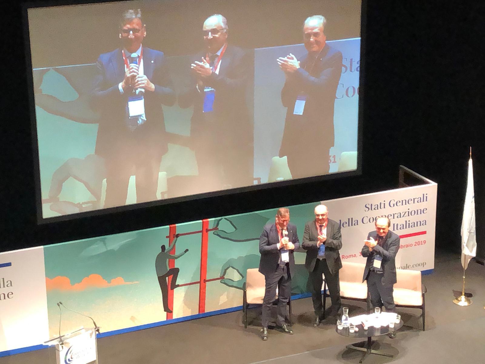 Mauro Lusetti è il nuovo presidente dell'Alleanza delle Cooperative Italiane