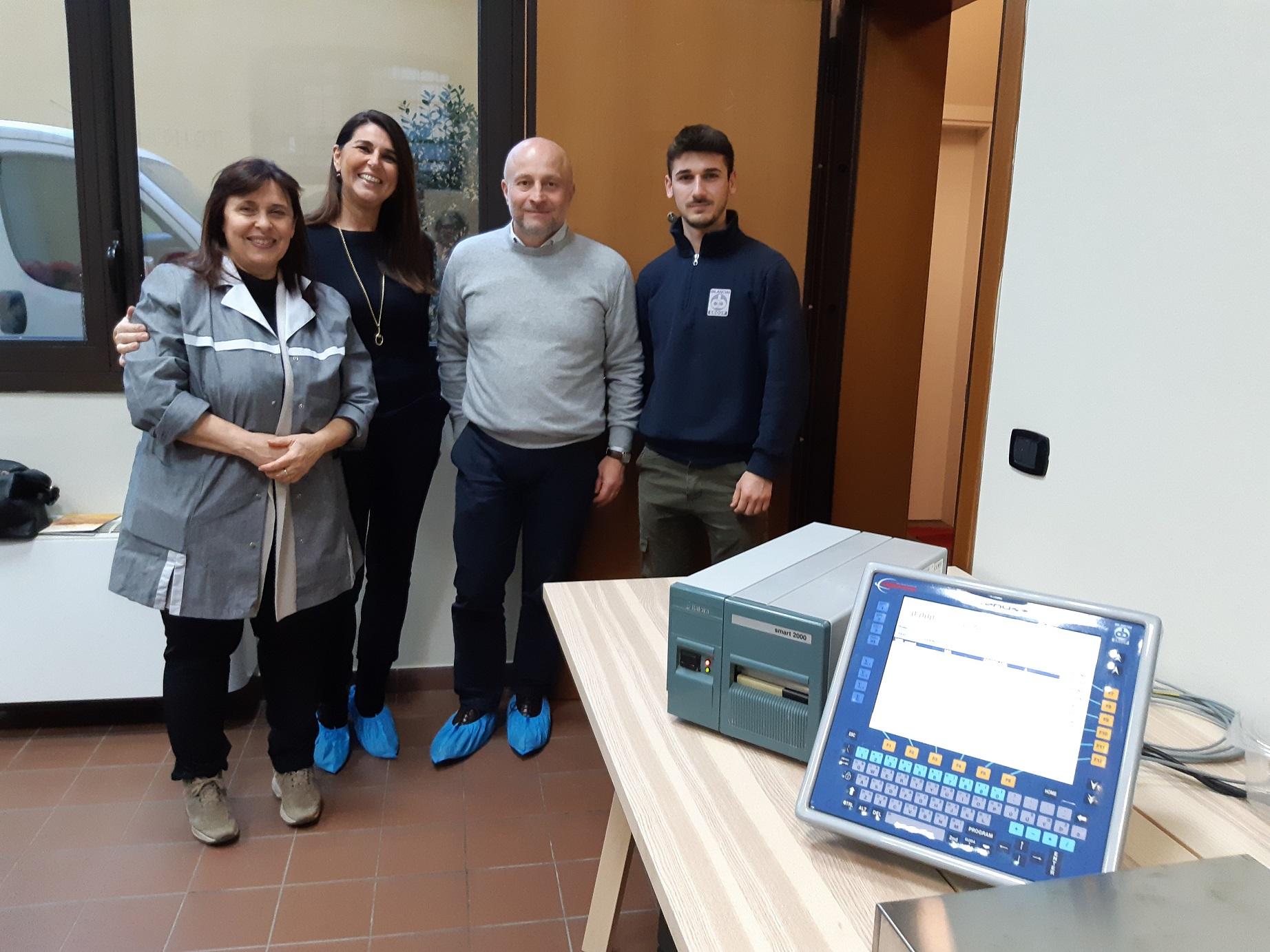Società Cooperativa Bilanciai sostiene Il Tortellante dotandoli di un sistema di pesatura, prezzatura ed etichettatura per i tortellini prodotti
