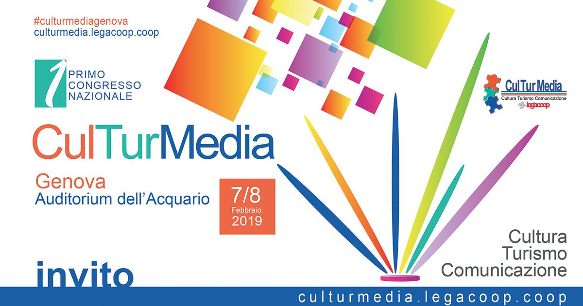 Primo Congresso Nazionale di CulTurMedia, il 7-8 febbraio all'Acquario di Genova. Scopri il programma!