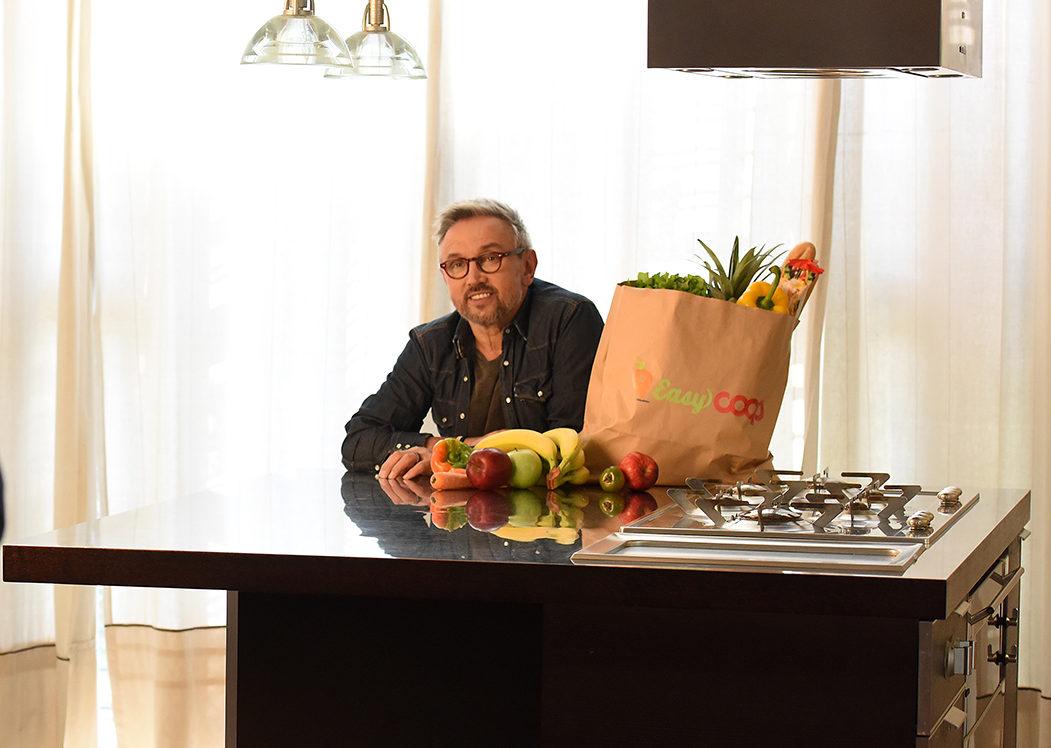 Lo Chef Bruno Barbieri è il nuovo testimonial di EasyCoop