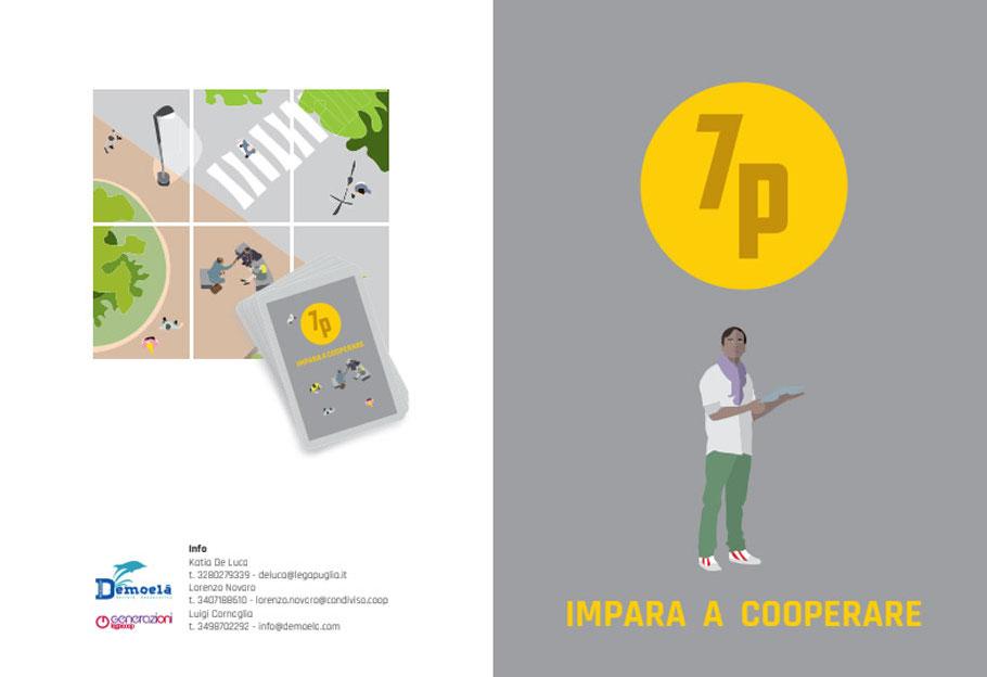 7P: impara a cooperare con il gioco di carte cooperativo promosso da Generazioni Legacoop