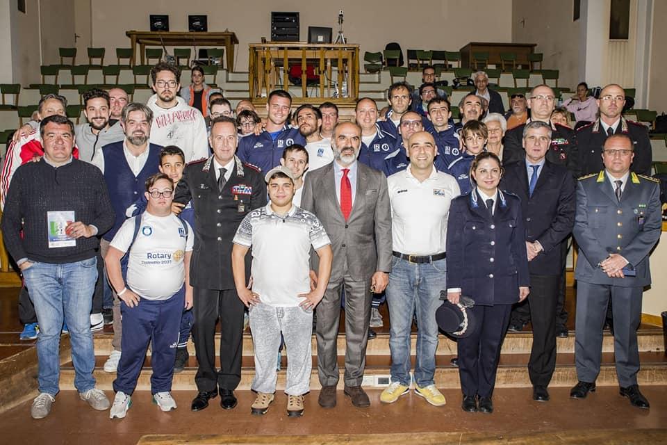 La cooperazione a sostegno del Campionato Italiano di calcio paralimpico, che si è svolto a Ferrara dal 10 al 12 maggio