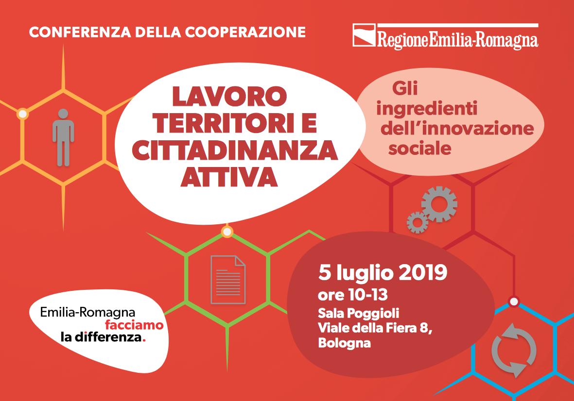 Cooperative protagoniste dell'innovazione sociale. L'intervento di Giovanni Monti alla Consulta regionale della cooperazione