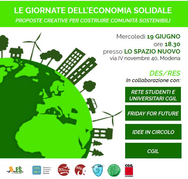 Climate Change 2, le scelte energetiche: mercoledì 19 giugno a Lo Spazio Nuovo