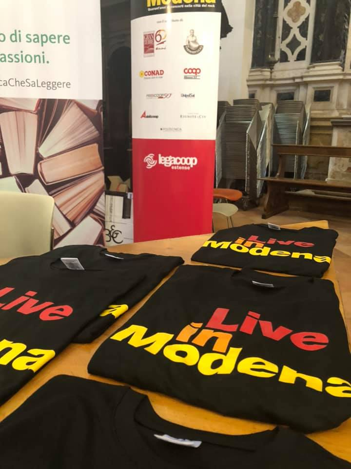 Live in Modena, una mostra da non perdere! Aperta fino al 14 agosto