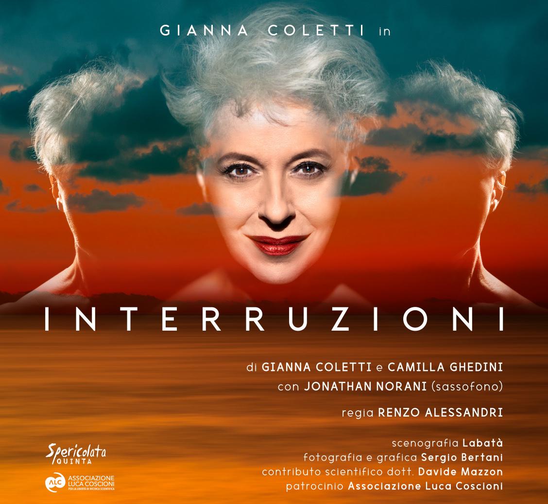 INTERRUZIONI: i diritti nel fine vita in uno spettacolo alla Sala Estense di Ferrara il 20 settembre, con la partecipazione di Mina Welby