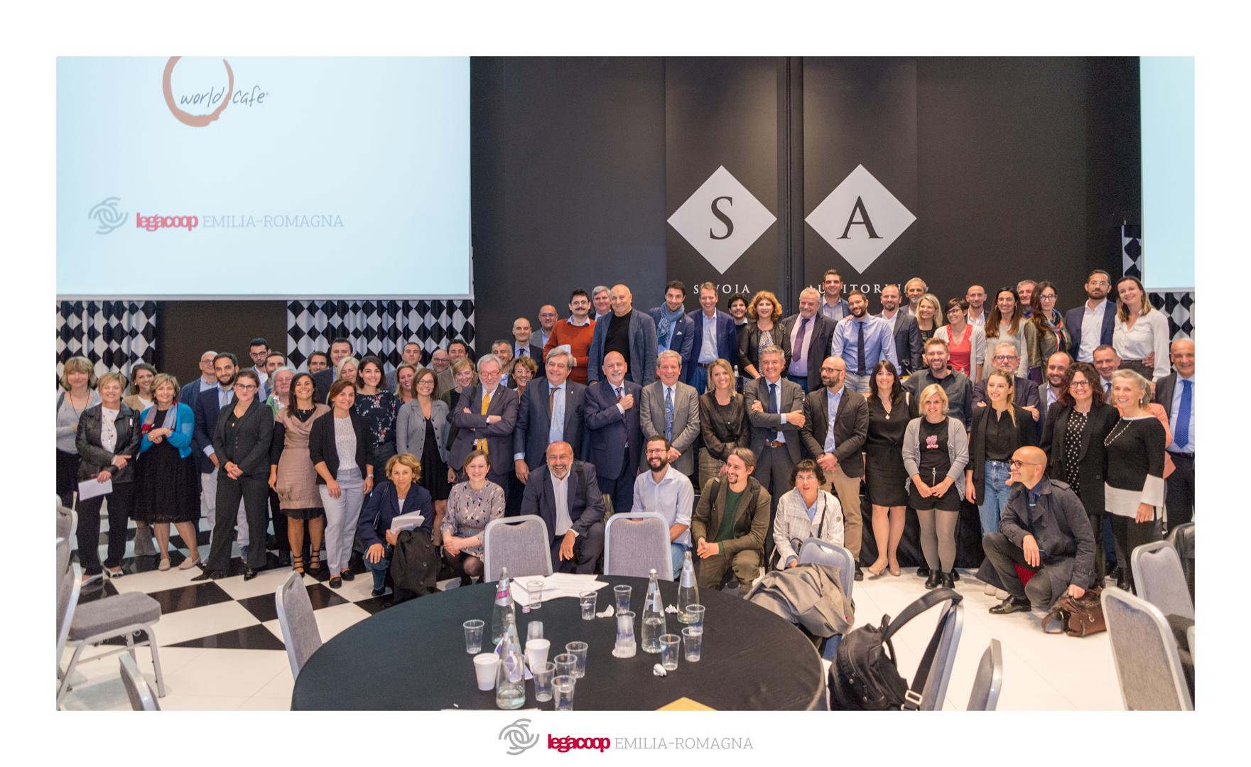 World Cafè Legacoop Emilia-Romagna: oltre 160 cooperatori al lavoro sulle nuove strategie di sviluppo