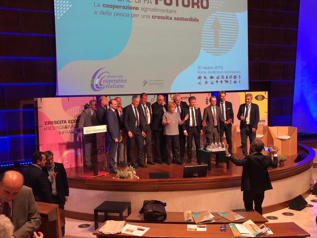 A Roma l'Assemblea dell'Alleanza delle Cooperative italiane agroalimentari e della pesca