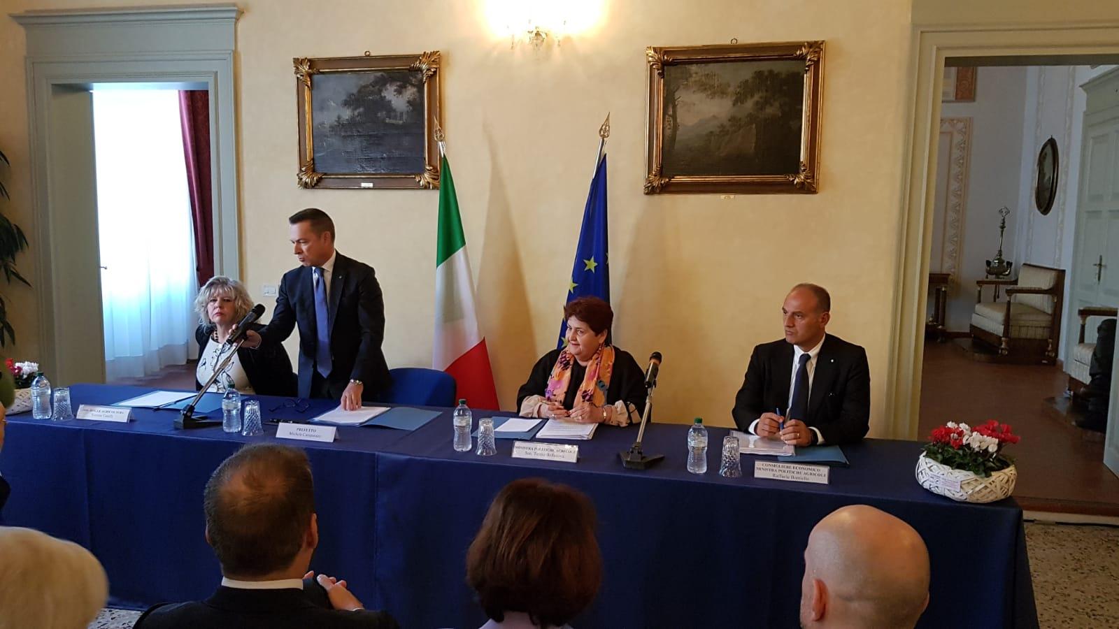 Ministra Bellanova a Ferrara: l'incontro anche con Agrinsieme e Alleanza delle Cooperative Pesca