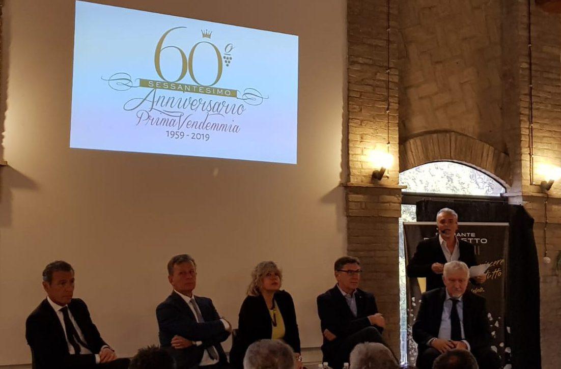 Cantine Riunite & CIV: sessanta vendemmie, le ha festeggiate la cantina di Castelfranco Emilia.