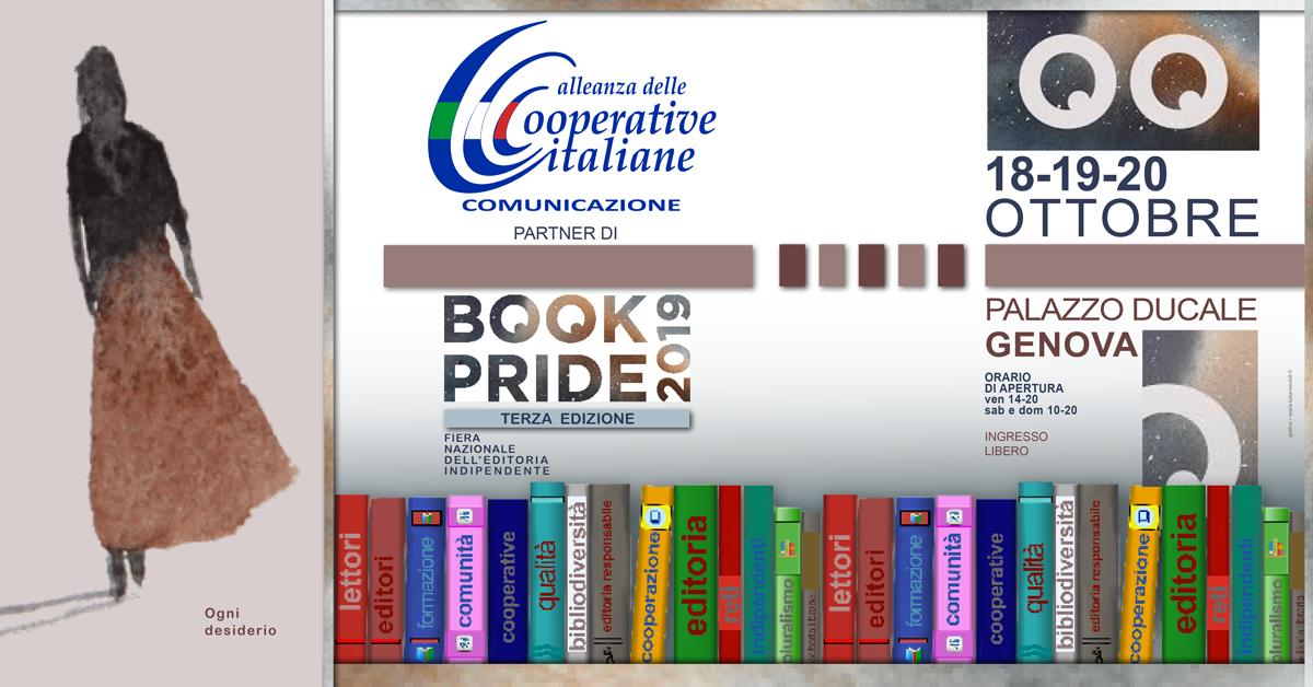 Alleanza delle Cooperative Comunicazione al Book Pride di Genova, dal 18 al 20 ottobre
