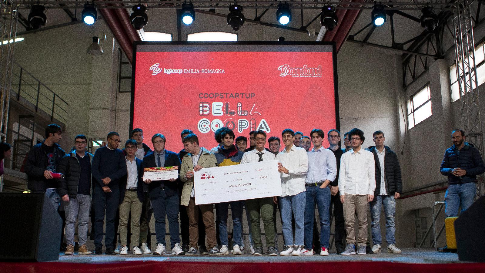 Con POL(EVO)LUTION l'Itis di Carpi vince il terzo premio alla finale di Bellacoopia Emilia-Romagna
