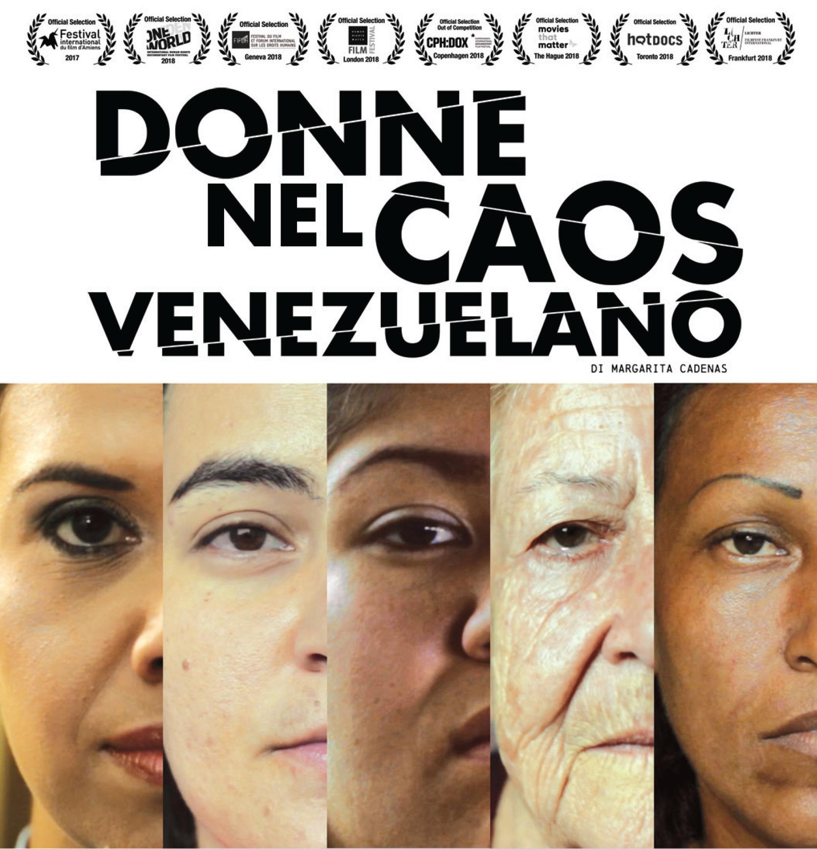 """""""Donne nel Caos Venezuelano"""": con la Commissione Pari Opportunità di Legacoop Estense, la proiezione del film a Ferrara e Modena"""