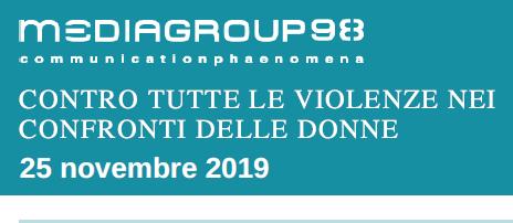 Giornata Internazionale per l'eliminazione della violenza contro le Donne @Mediagroup98