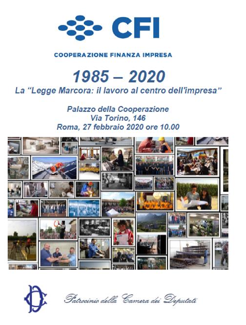 CFI: il 27 febbraio evento per i trentacinque anni della Legge Marcora