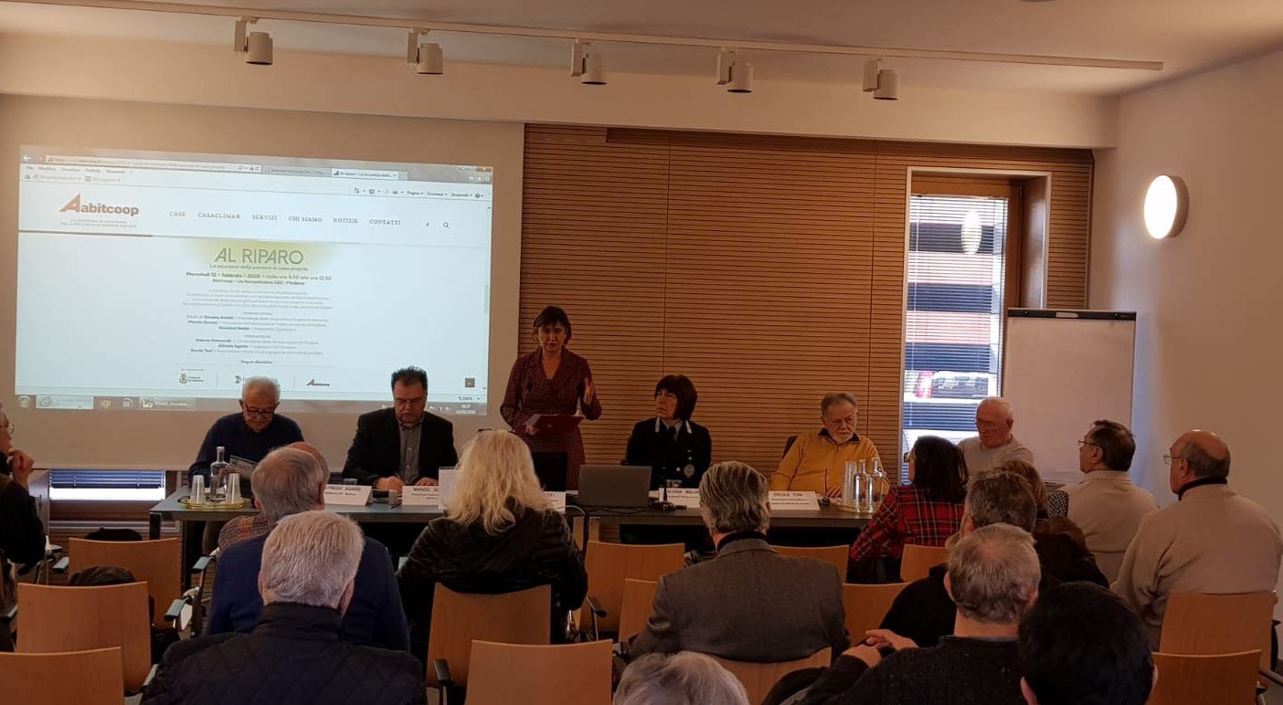 Convegno ad Abitcoop sulla sicurezza domestica, in collaborazione con Federconsumatori Modena