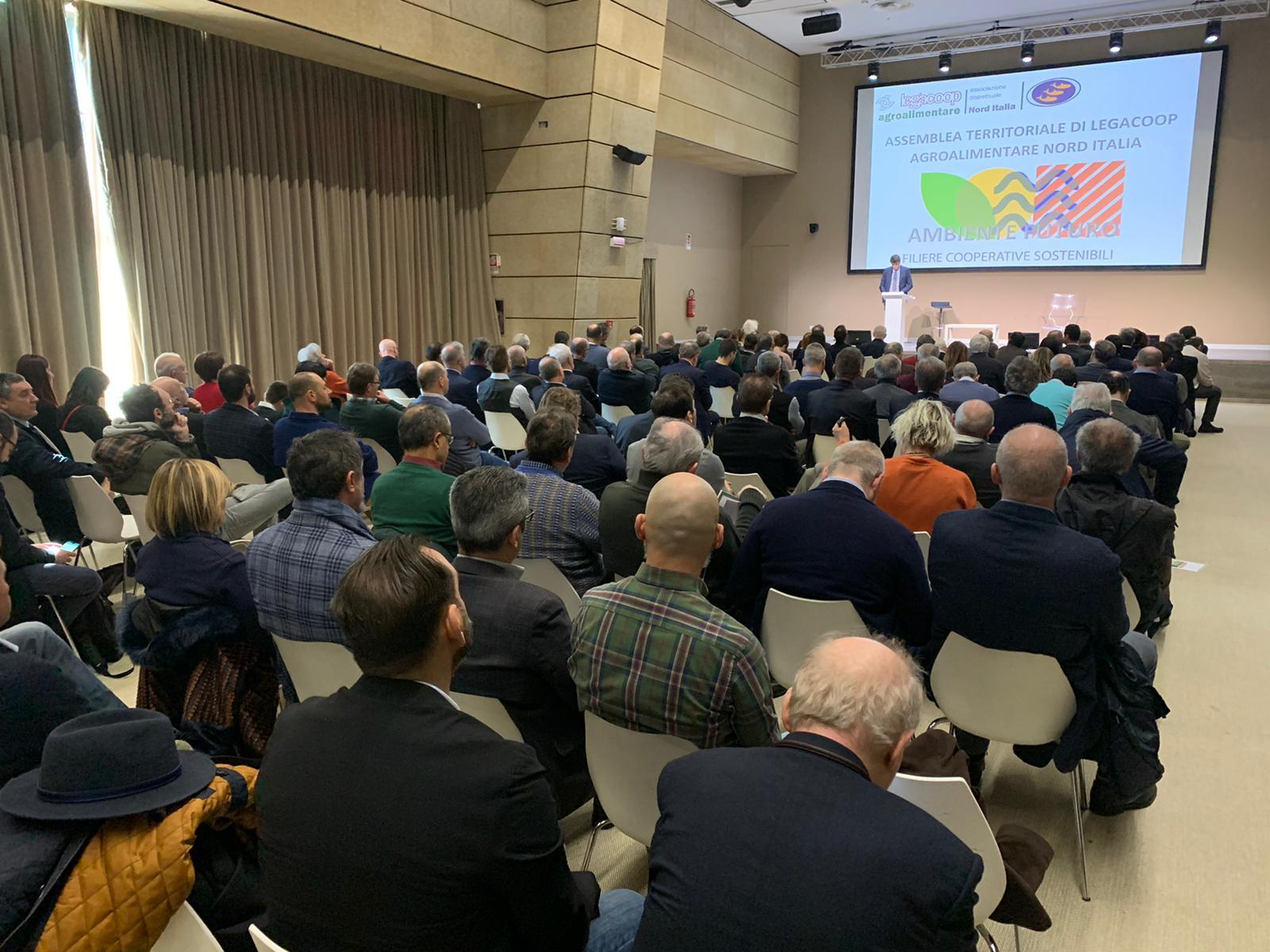 Innovazione, sostenibilità e sviluppo territoriale all'Assemblea di Legacoop Agroalimentare Nord Italia